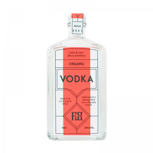 Faith & Sons Organic Vodka 50cl