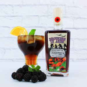 Brothers In Arms Blackberry And Poppy Royal Rum 50cl