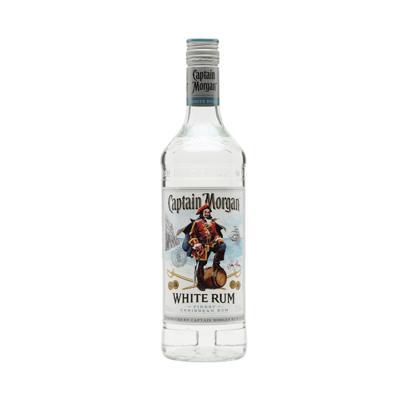 Ginspiration captain morgan white rum 70cl for White rum with coke