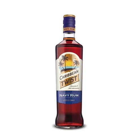 Caribbean Twist Dark Navy Rum 70cl