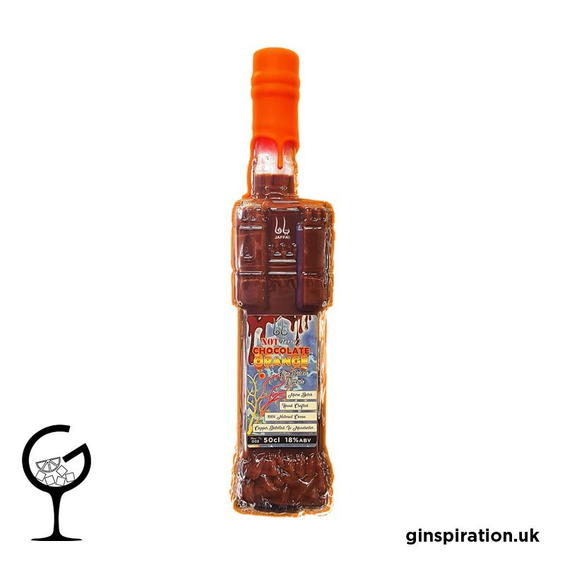 Jaffa 2512 Not Terry's Chocolate Orange Gin Liqueur 50cl | Ginspiration.uk