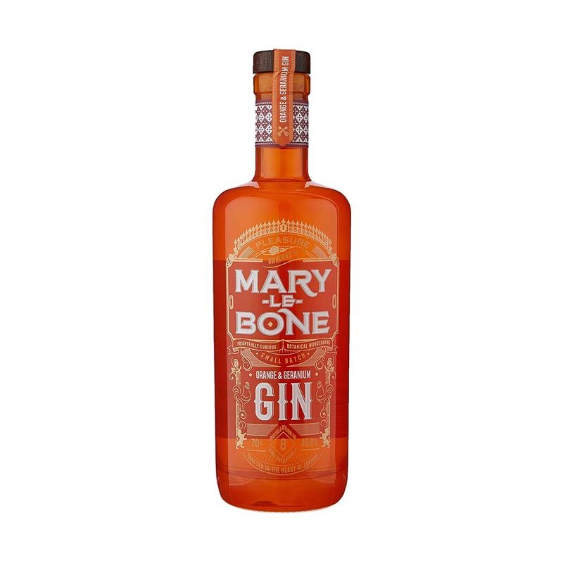 Marylebone Orange & Geranium Gin 50cl | Ginspiration.uk