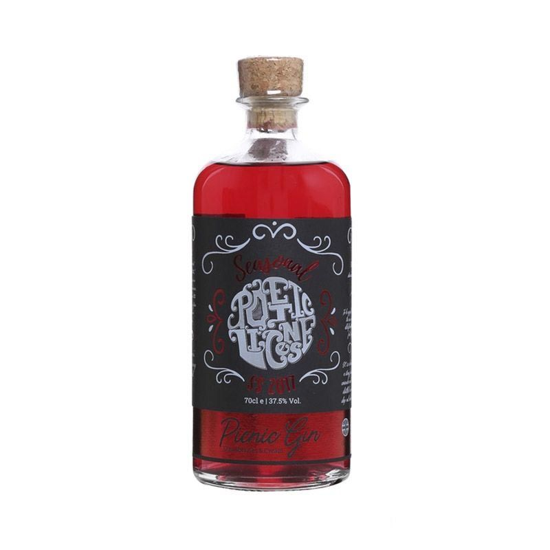 Poetic License Strawberries & Cream Picnic Gin 70cl | Ginspiration.uk