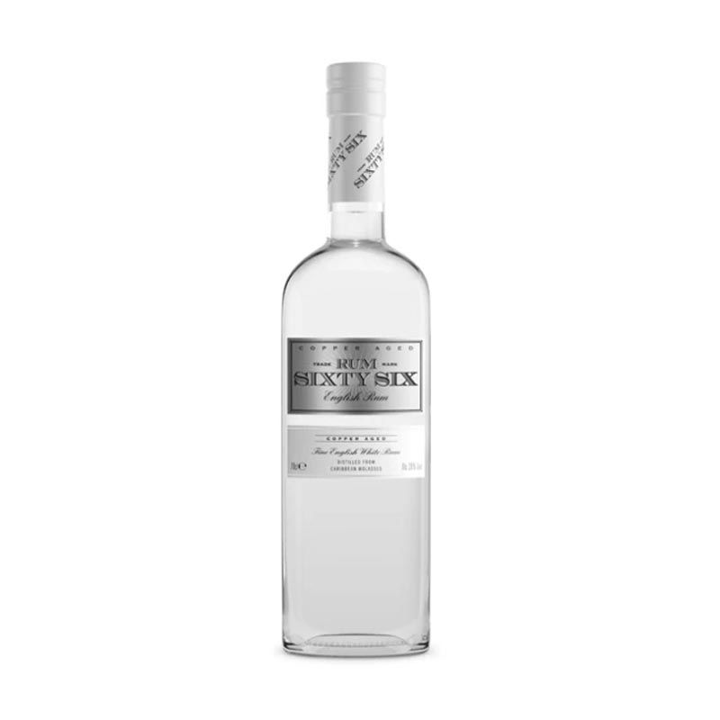 Rum Sixty Six English White Rum 70cl | Ginspiration.uk